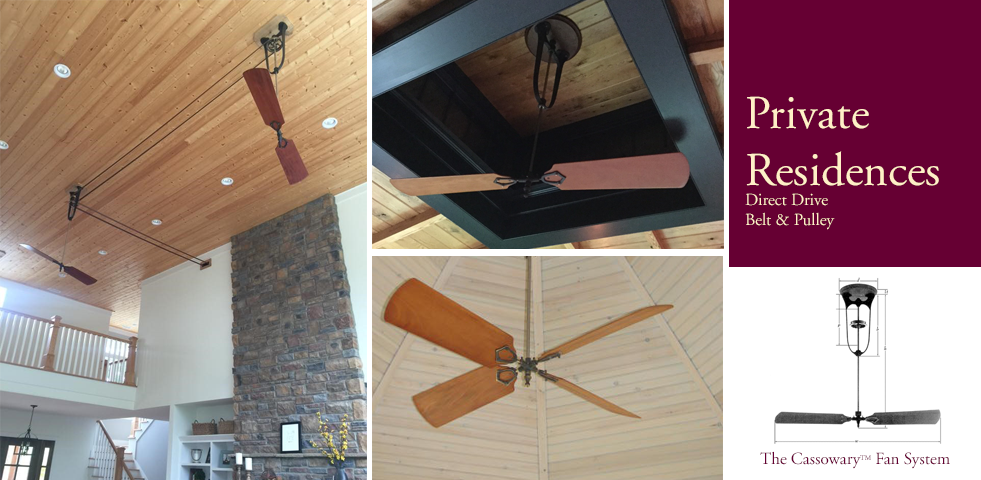 Mahogany belt driven direct drive and pulley ceiling fans aloadofball Images